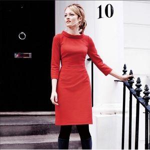 Boden Zoe Ottoman Dress 8L
